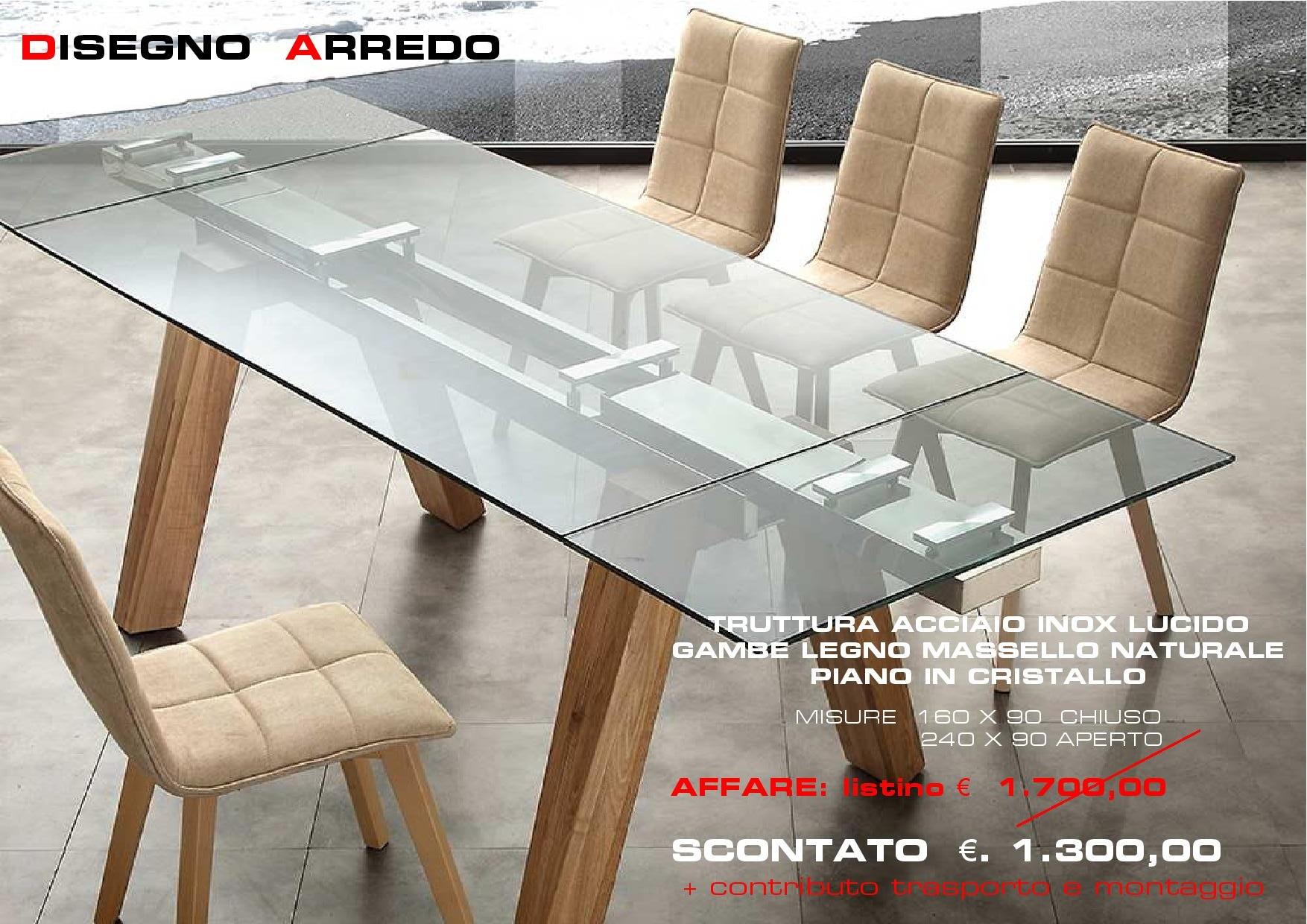 tavolo caronte offerta disegno arredo ventimiglia disegno arredo ventimiglia. Black Bedroom Furniture Sets. Home Design Ideas