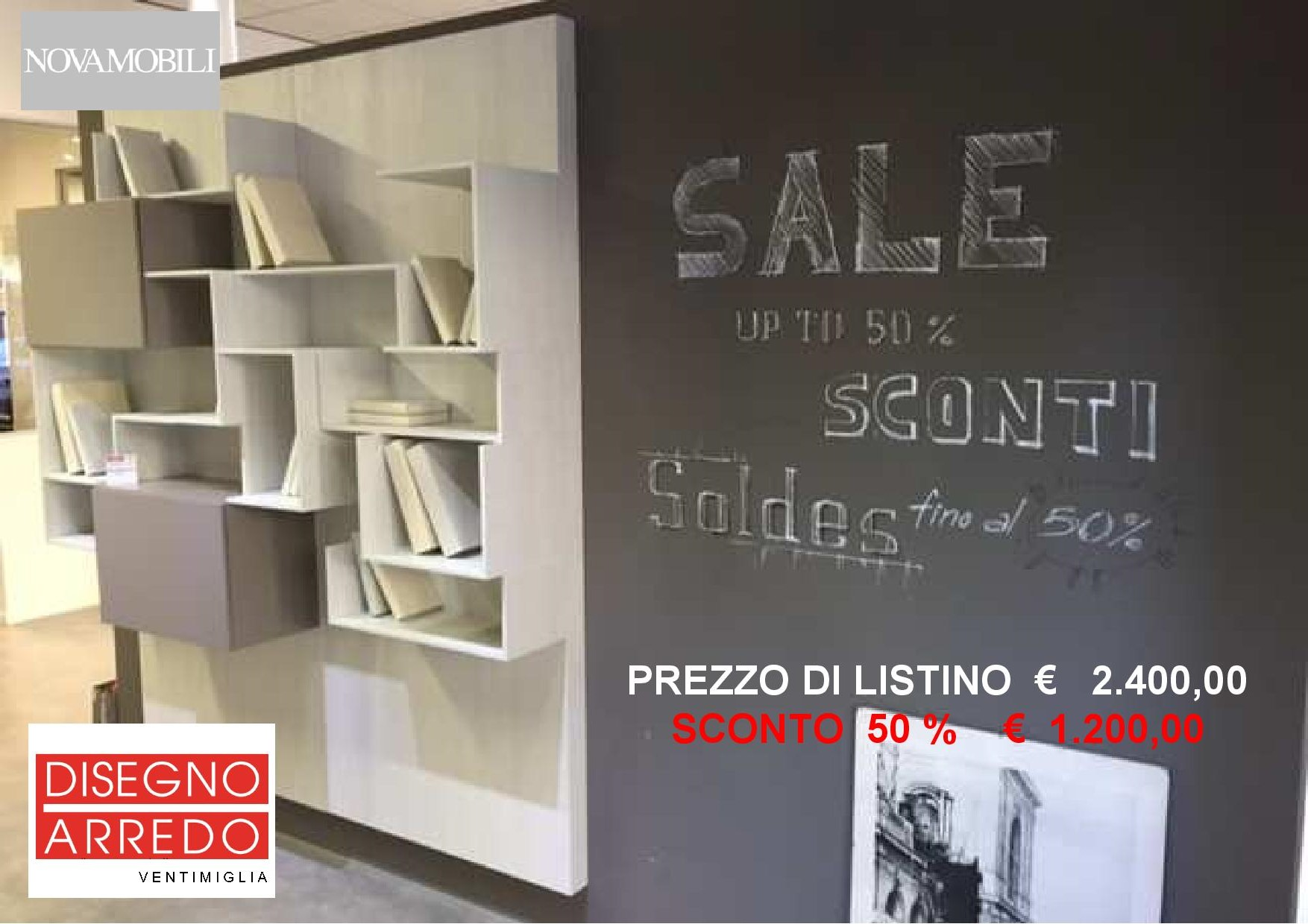 saldi libreria Novamobili-RUOTATA